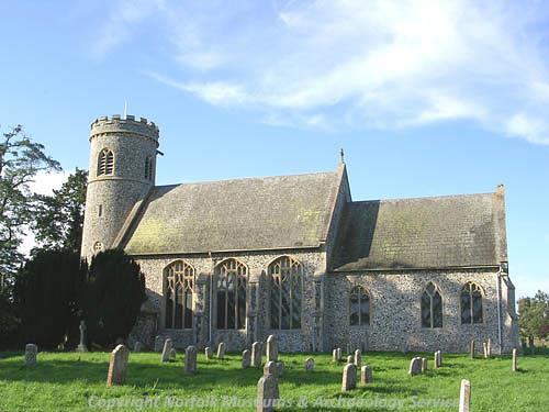 St Mary's Church, Weeting with Broomhill.