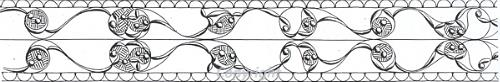 Design from Iron Age bracelet/torc.