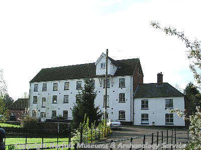 Late 18th or early 19th century watermill, now converted into houses.