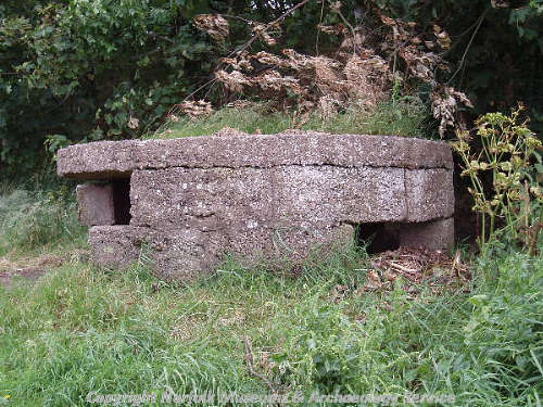World War One pillbox