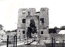 Baconsthorpe Castle during 500th anniversary celebrations.