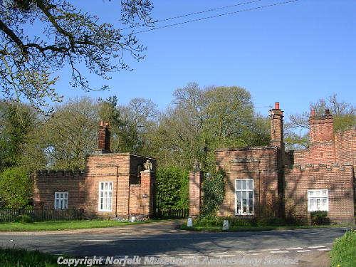 The 19th century lodges at Heydon Park