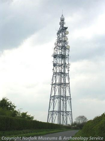 Cold War antenna array.