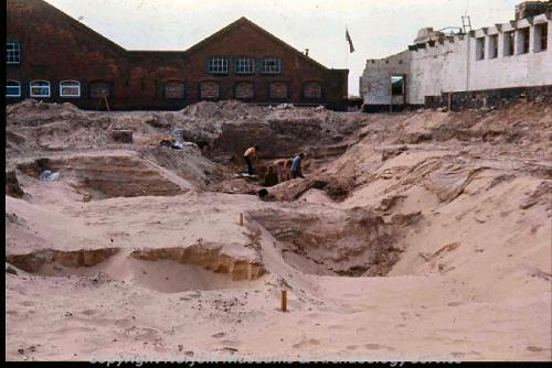 Excavation at Fullers Hill, 1974