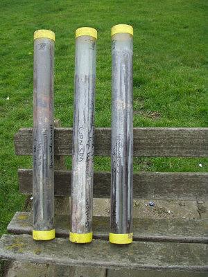 Recovered undisturbed samples from a Great Yarmouth borehole
