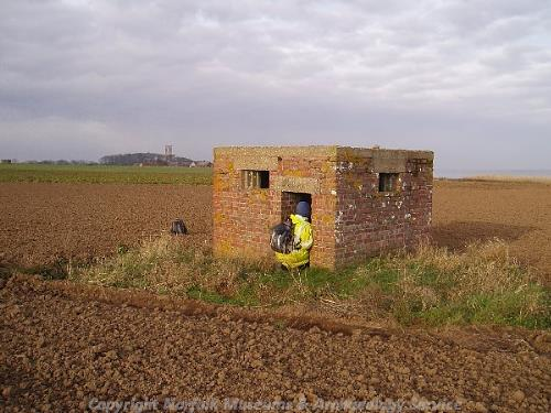 A World War Two pillbox.