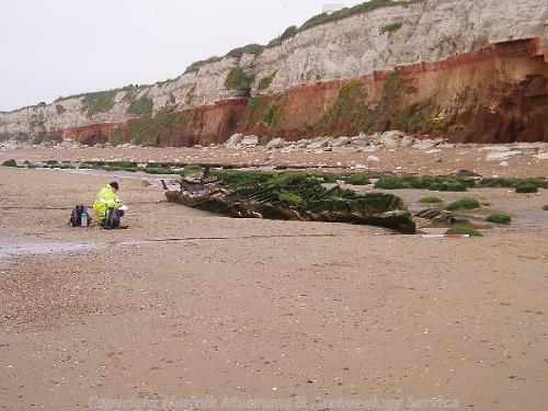 Wreck Of The Sheraton Hunstanton Beach Norfolk Heritage