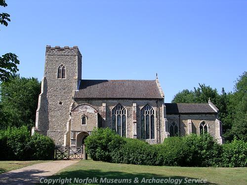 St Nicholas' Church in Ashwellthorpe